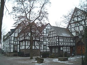 "Wetter (Ruhr) - The ""Fünf-Giebel-Eck"" (Five-Gable-Corner) in Wetter"