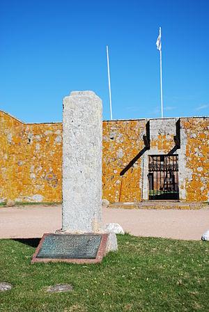 Fuerte San Miguel (Uruguay) - Main gate of Fuerte San Miguel