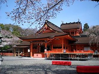 Fujisan Hongū Sengen Taisha - Honden of Fujisan Hongū Sengen Taisha