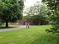 Fulham Palace, lawn by entrance - geograph.org.uk - 835675.jpg
