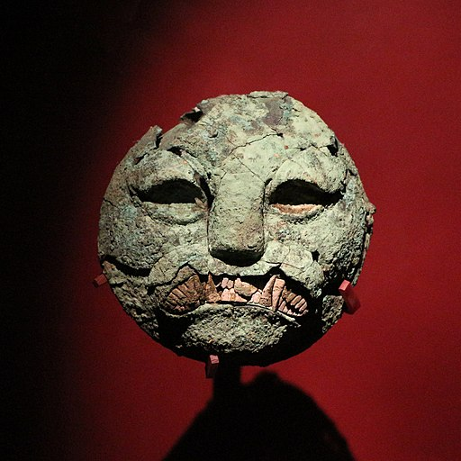 Funerary mask, Sipán 01