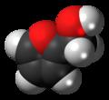 Furfuryl alcohol 3D spacefill.png