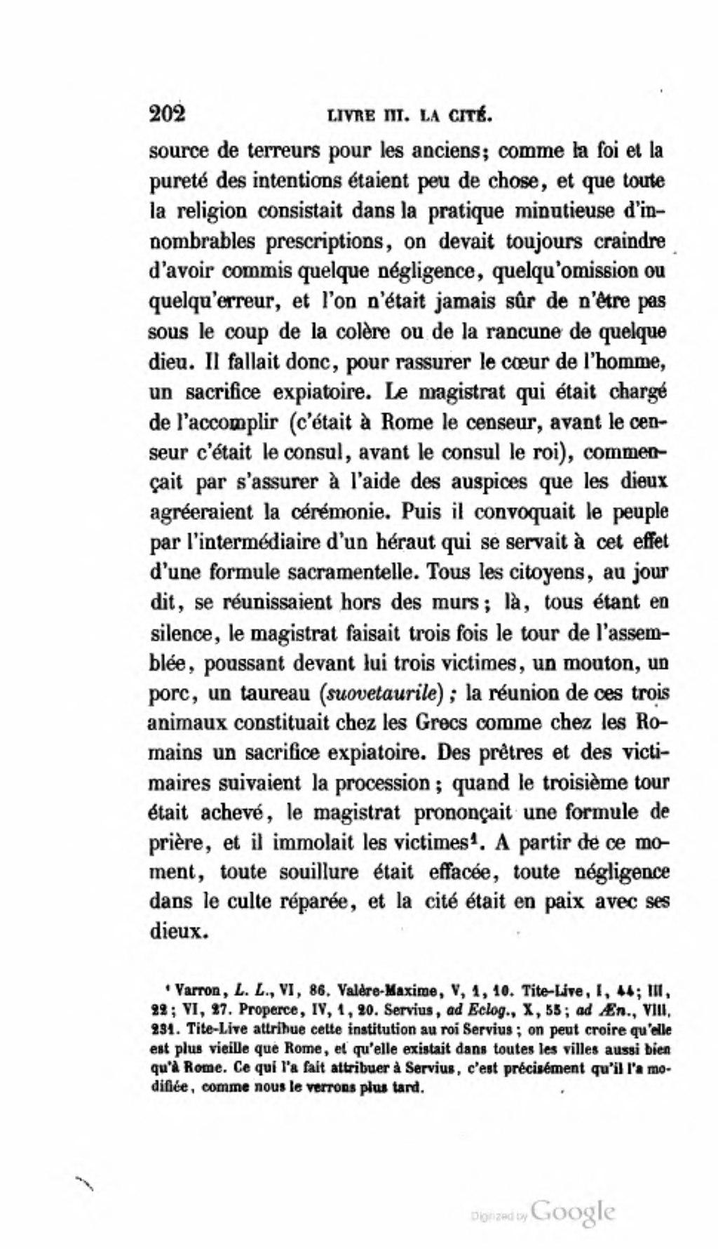 Page Fustel De Coulanges La Cite Antique 1864 Djvu 214 Wikisource