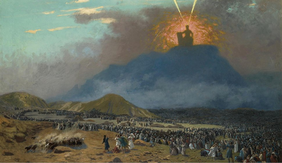 Gérôme, Jean-Léon - Moses on Mount Sinai Jean-Léon Gérôme -1895-1900