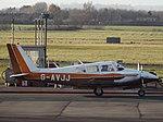 G-AVJJ Piper Twin Comanche 30 (31518362555).jpg