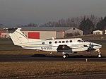 G-FSEU Beech King Air 200 Nimbus Air Ltd (31614717434).jpg