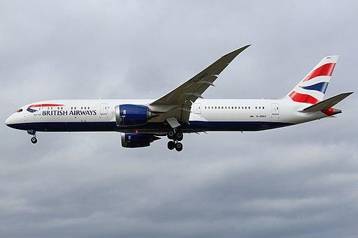 G-ZBKF Boeing 787-9 British Airways (34138128401)