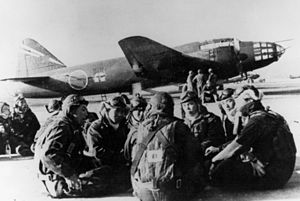 721st Naval Air Group - Mitsubishi G4M2E 721-328 of the 711th Attack Squadron (Kōnoike Air Base, Japan, February 1945)