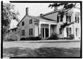 GENERAL VIEW OF SIDE FACADE - Rose Hill, Geneva, Ontario County, NY HABS NY,50-GEN.V,1-2.tif