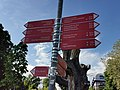 GER — BW — Friedrichshafen — Promenade (Schilder für lokale Destinationen) 2021.jpg