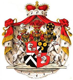 Windisch-Graetz - Princely arms of Windisch-Graetz