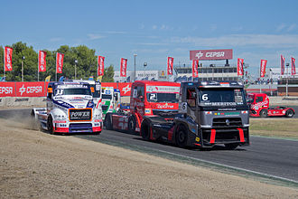 European Truck Racing Championship - Spain Grand Prix 2013