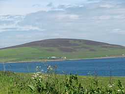 Gairsay from Mainland Orkney
