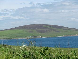 Gairsay - Gairsay from Mainland Orkney