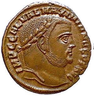 Galerius - Follis of Galerius