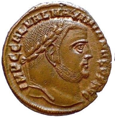 Galerius RIC Alexandria 79 obv
