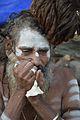 Ganja Smoking - Gangasagar Fair Transit Camp - Kolkata 2014-01-05 5619.JPG