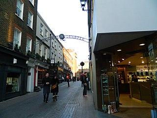 street in Soho, London