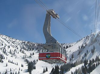 Doppelmayr Garaventa Group - A Garaventa Aerial Tramway at Snowbird, Utah, USA