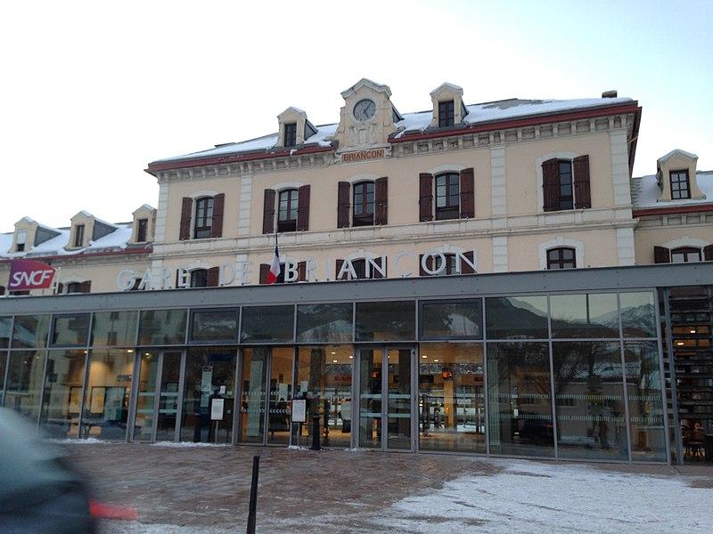 Gare de Briançon