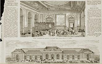 Louis-Jules Bouchot - Image: Gare de Nice en 1865