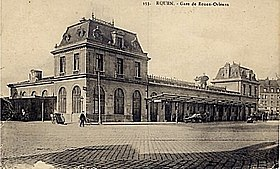 Image illustrative de l'article Gare de Rouen-Orléans