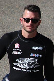 Garth Tander Australian racing driver