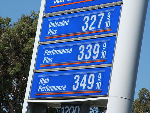 Gas prices, July 2006, San Francisco, California 01