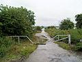 Gate to Trans Pennine trail. - geograph.org.uk - 513151.jpg