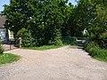 Gated Old Lane Track - geograph.org.uk - 1329485.jpg