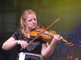 Jorun Marie Kvernberg - Kvernberg at the Tindra and Kroke koncert during the 30th Festival of Music in Gdansk, Inspired by Folklore, 29 July 2010.