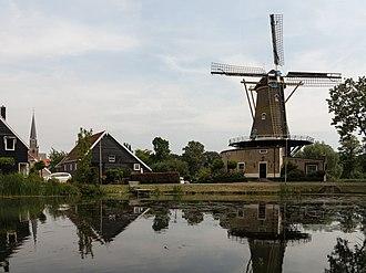 Geervliet - Geervliet, windmill: de Bernissemolen