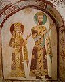 Gelati monastery frescoes (near Kutaisi, Georgia).jpg