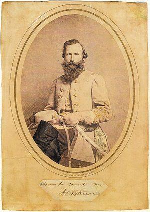 Julian Vannerson - Image: Gen. J.E.B. Stuart