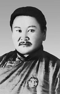 Peljidiin Genden Mongolian politician