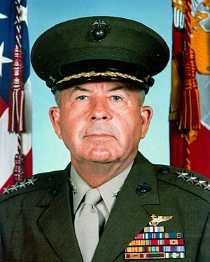 John K. Davis - Davis as Assistant Commandant of the Marine Corps (1983)