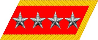 Ranks of the People's Liberation Army Ground Force - Image: General of the Army collar insignia (PRC)