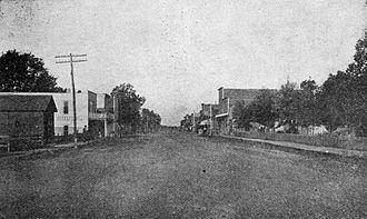 Gentry, Arkansas - Gentry in 1912