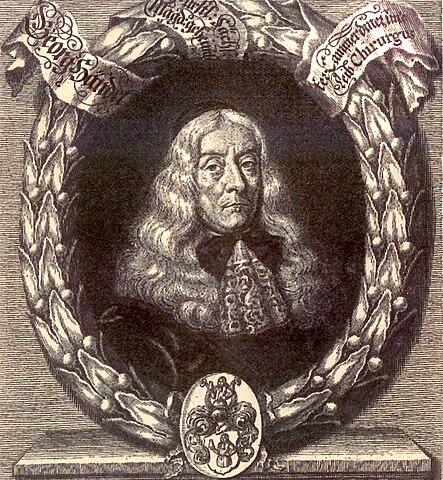 Георг Гендель, отец композитора
