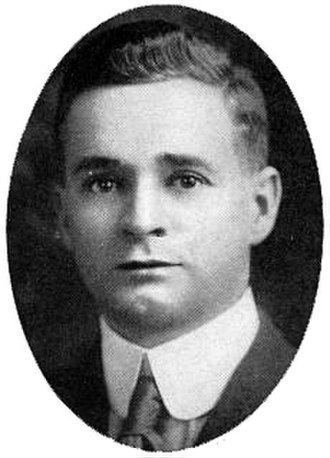 George Flint - Flint as head basketball coach at Pittsburgh, c. 1917
