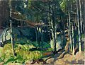 George Bellows - Fern Woods (1913).jpg
