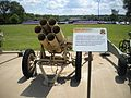 German Nebelwerfer 41 rocket launcher front view.jpg