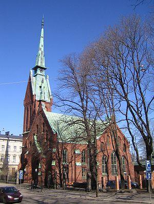 Harald Julius von Bosse - German Church, Helsinki (1864), Harald Julius von Bosse and Carl Johan von Heideken.