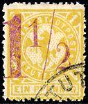 Germany Stuttgart 1888 local stamp 1.5pf on 1pf - 8 used (2).jpg