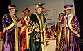 Ghulam Nabi Azad lighting the lamp at the Foundation Day of the Post Graduate Institute of Medical Education and Research, Dr. RML Hospital, in New Delhi. The Secretary, Ministry of Health and Family Welfare.jpg
