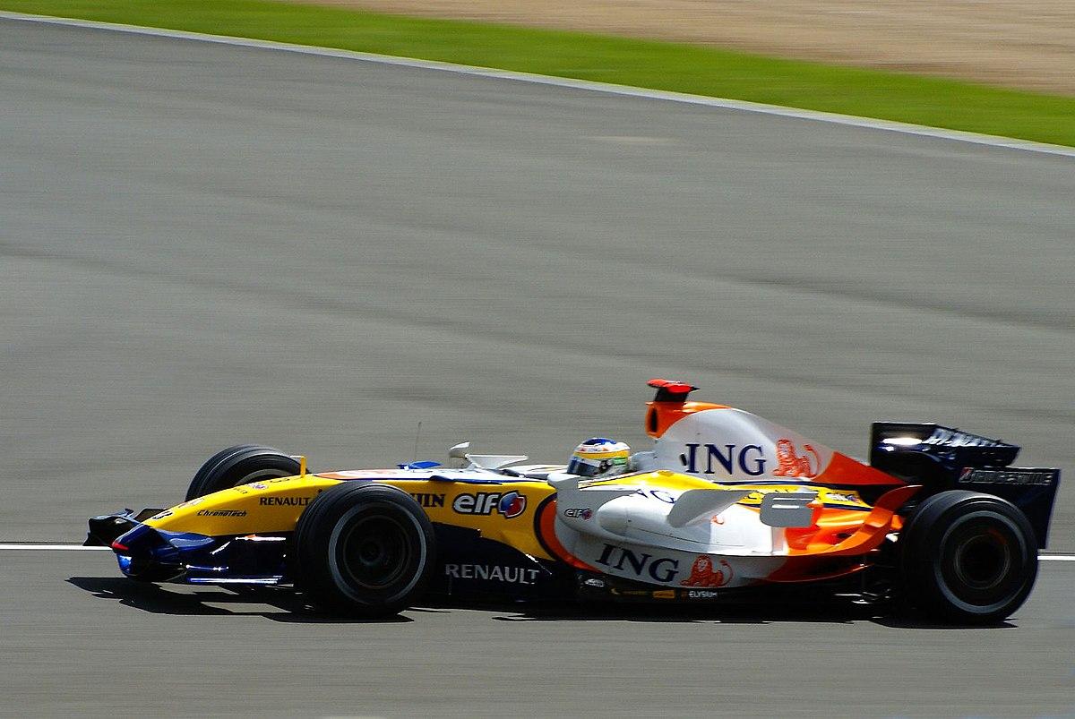 Renault F1, equipe histórica de Formula 1 de 2007 - by Martin Pettitt from Bury St Edmunds