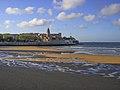 Gijon-playa san lorenzo y Cimadevilla.JPG