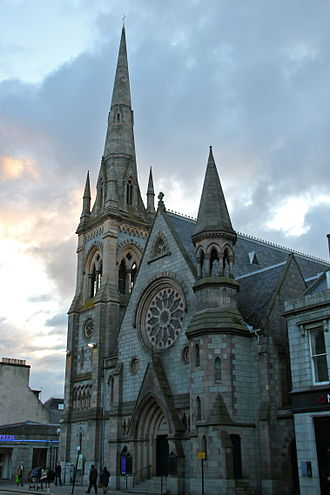 Religion in Aberdeen - Image: Gilcomston South Church, Aberdeen