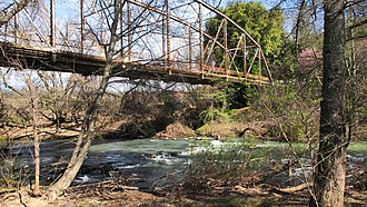Dry Creek (Sonoma County, California) - Lambert Bridge spanning Dry Creek