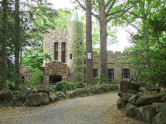 Gimghoul Neighborhood Historic District - Hippol Castle, headquarters of the Order of Gimghoul